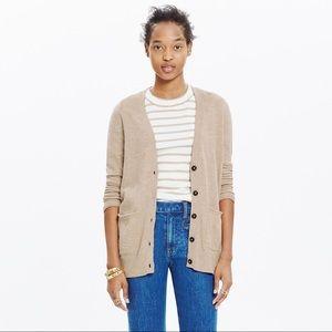 Madewell Graduate Cardigan Sweater Medium